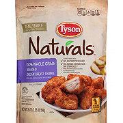 Tyson Naturals Whole Grain Breaded Chicken Breast Chunks