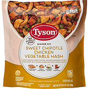 Tyson Sweet Chipotle Chicken Vegetable Hash