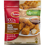 Tyson Waffle Flavored Breaded Chicken Strips