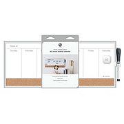 U Brands Aluminum Frame Magnetic Weekly Planner