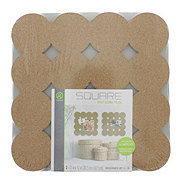 U Brands Dot Cut Cork Tiles Board