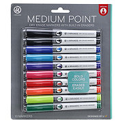 U Brands Medium Point Dry Erase Markers