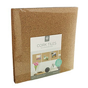 U Brands Natural Cork Tiles 12X12