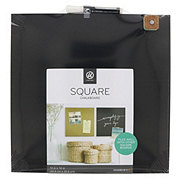 U Brands Square Magnetic Chalk Board