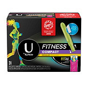 U by Kotex Fitness Compact Tampons Regular