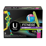 U by Kotex Fitness Compact Tampons Super