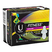 U by Kotex Fitness Ultra Thin Pad Regular
