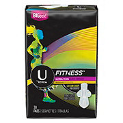 U by Kotex Fitness Ultra Thin Pad Regular Wing