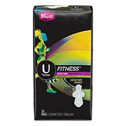 U by Kotex Fitness Ultra Thin Pads Heavy Wing