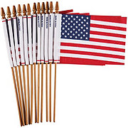 U.S.A Polycotton Hand Flags 4 in x 6 in