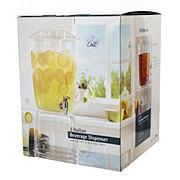 U.S. Acrylic Beverage Dispenser With Ice Core