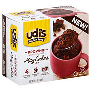 Udi's Gluten Free Brownie Mug Cakes Mix - Shop Baking ...