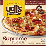 Udi's Gluten Free Supreme Pizza