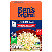Uncle Ben's Boil-In-Bag White Rice