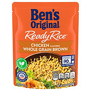 Uncle Ben's Chicken  Whole Grain Brown Ready Rice
