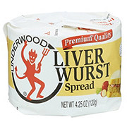 Underwood Liverwurst Spread