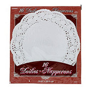 Unique 10.5 in White Doilies