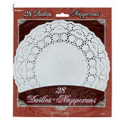 Unique 8.5 in White Doilies,