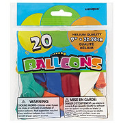 Unique Balloons Assorted Colors