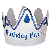 Unique Birthday Prince Crown