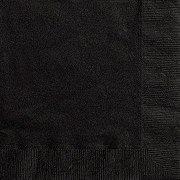 Unique Black Beverage Napkins