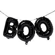 Unique Black Boo  Letter Banner
