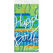 Unique Bright Birthday Table Cover