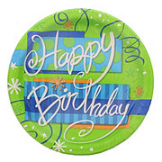 Unique Bright Happy Birthday Plate