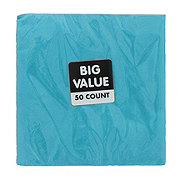 Unique Caribbean Teal Lunch Napkin Value Pack