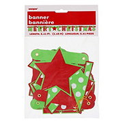 Unique Christmas Dots Jointed Banner