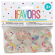 Unique Confetti Filled Bouncy Balls