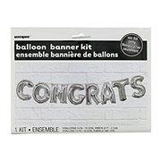 Unique Congrats Letter Balloon Kit