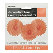 Unique Coral Decorative Fan