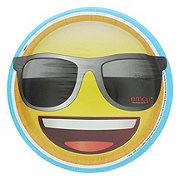 Unique Emoji Plate, 9 inch