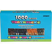 Unique Frilled Toothpicks Box