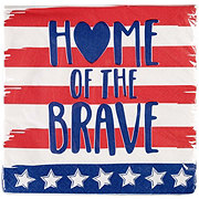 Unique Home Of The Brave Lunch Napkins