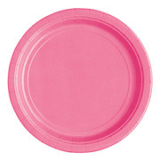 Unique Hot Pink 7 in Plates