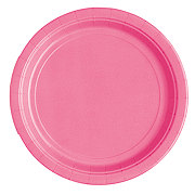 Unique Hot Pink 9 in Plates