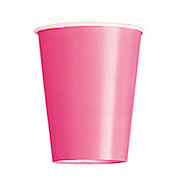 Unique Hot Pink 9 oz Cup