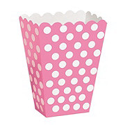 Unique Hot Pink Dots Treat Box