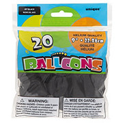 Unique Jet Black Balloons