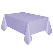 Unique Lavender Plastic Table Cover