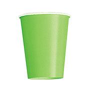 Unique Lime Green 9 oz Cup