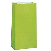 Unique Lime Green Paper Party Bags