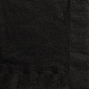 Unique Midnight Black Lunch Napkin