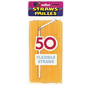 Unique Neon Flex Straws