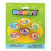 Unique Party Spin Tops Assorted Colors