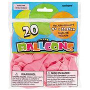 Unique Petal Pink Balloons