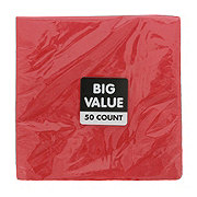 Unique Red Lunch Napkin Value Pack