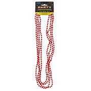 Unique Red Metallic Beads